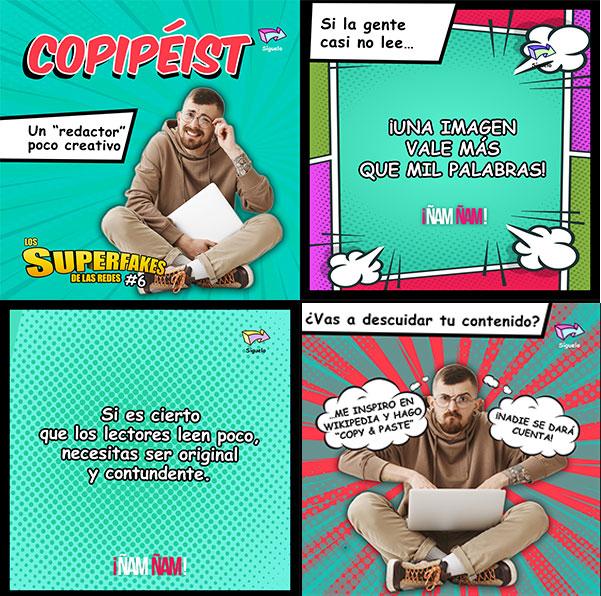 Copipeist redacción creativa